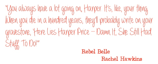 Rebel Belle Book Review Pic 03 by Casey Carlisle