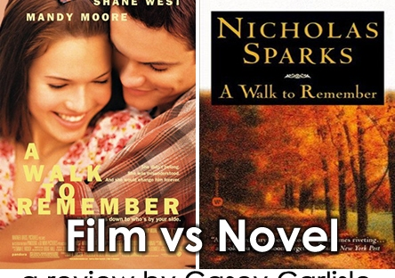 Film Vs Novel A Walk To Remember Casey Carlisle
