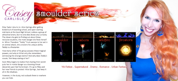 Smoulder series blurb