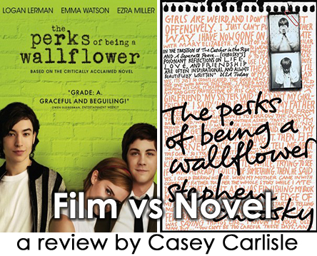 The Perks of Being a Wallflower Film vs Novel Pic 01 by Casey Carlilse