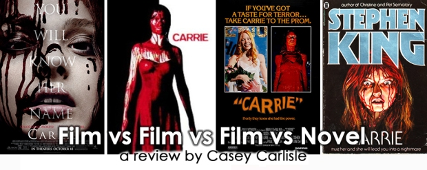Carrie Film vs Film vs Film vs Novel Pic 01 by Casey Carlisle