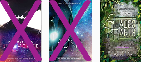 Across the Universe trilogy by Casey Carlisle