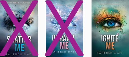 Shatter Me trilogy by Casey Carlisle