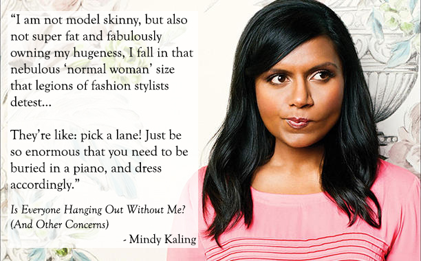 #bookquotes Mindy Kaling 01 by Casey Carlisle