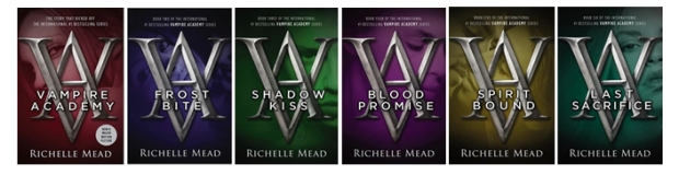 Vampire Academy Series Covers by Casey Carlisle.jpg