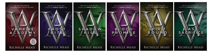 Wrap up – The Vampire Academy Series by Richelle Mead – Casey Carlisle