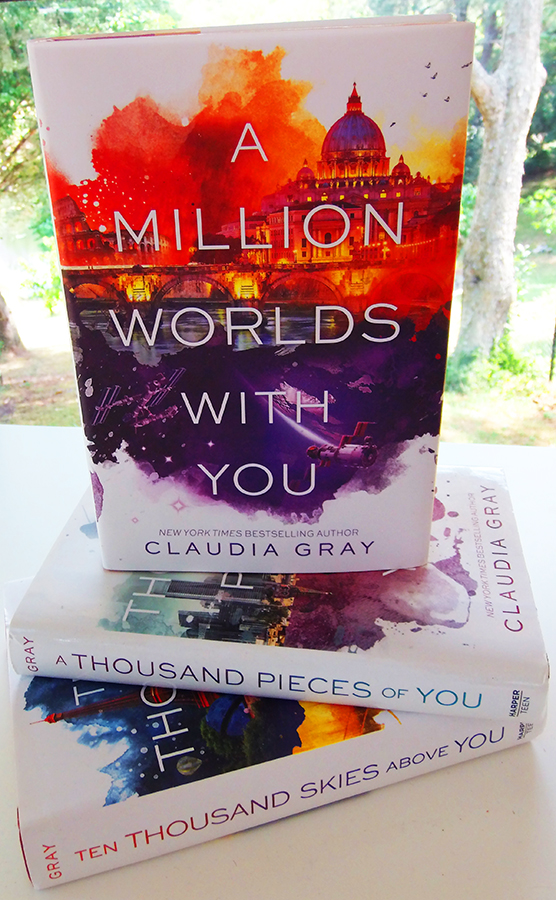#bookporn Claudia Gray trilogy by Casey Carlisle.jpg