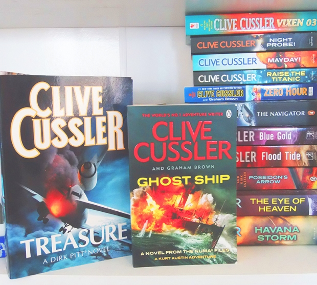 #bookporn Clive Cussler March by Casey Carlisle.jpg