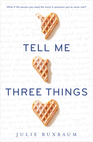 Tell Me Three Things Book Review Pic 01 by Casey Carlisle