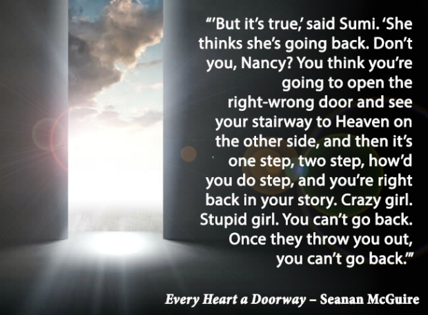 #BQ Every Heart a Doorway by Casey Carlisle