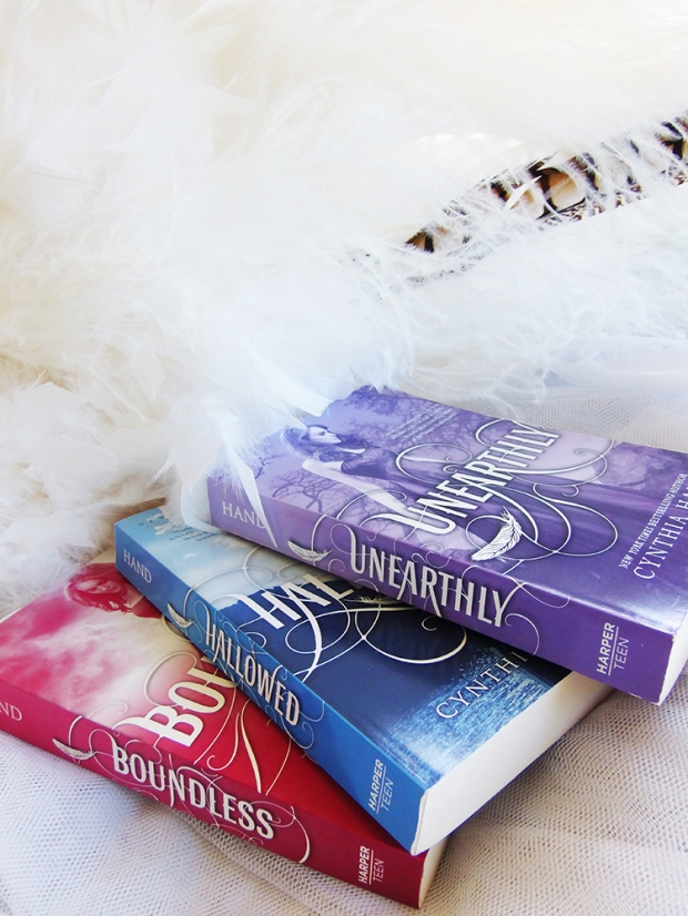 #bookporn Unearthly trilogy by Casey Carlisle.jpg