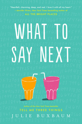 What to Say Next Book Review Pic 01 by Casey Carlisle