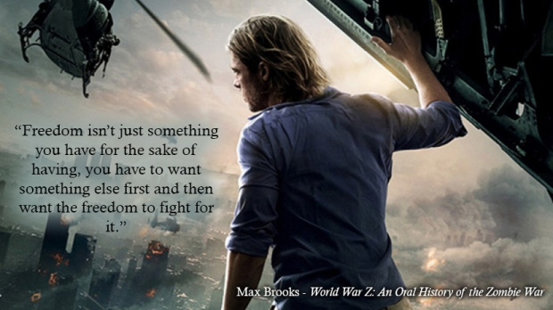 #BQ World War Z by Casey Carlisle