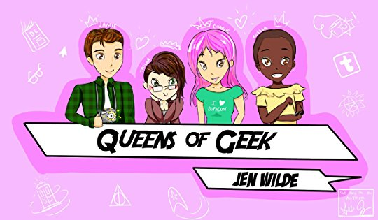 Queens of Geek Book Review Pic 02 by Casey Carlisle