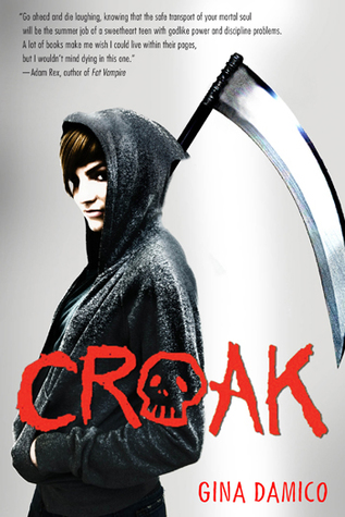 Croak (#1 Croak) Book Review Pic 01 by Casey Carlilse