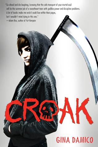 Croak (#1 Croak) Book Review Pic 01 by Casey Carlilse