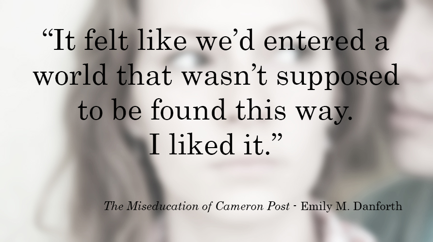 #BQ The Miseducation of Cameron Post by Casey Carlisle