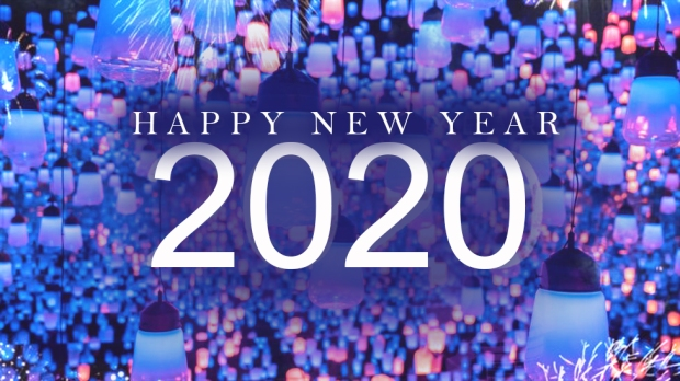 Happy New Year for 2020 Pic 01 by Casey Carlisle