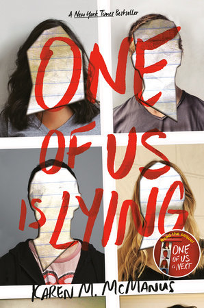 One of Us is Lying (#1 One of Us is Lying) Book Review Pic 01 by Casey Carlisle